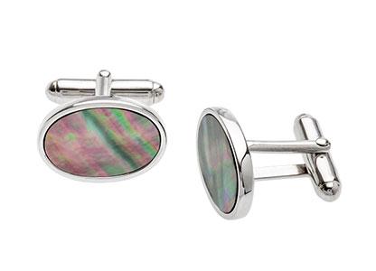 Winchester-MOP-Silver-Cufflinks-CK00002