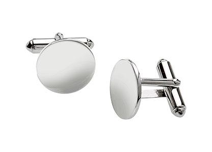 Stirlingshire-Silver-Round-Cufflinks-CK00025