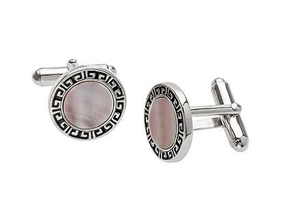 MOP-Sterling-Silver-Cufflinks-CK00056