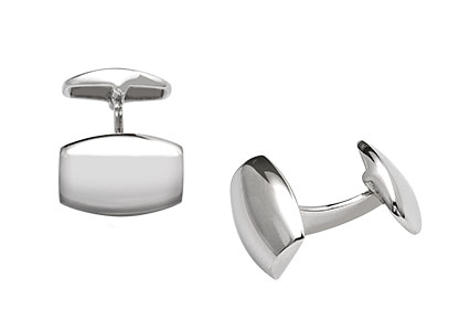 Silver-Cufflinks-Barrel-Shaped-CK00088