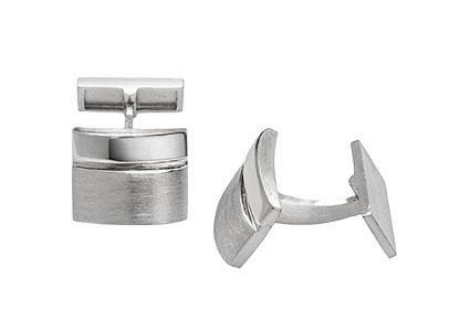 Manchester Silver Cufflinks CK00089