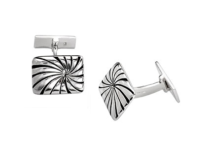 Rectangular-Shape-Silver-Cufflinks-CK00091