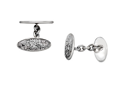 Burlington-Silver-Chain-Cufflinks-CCK00243