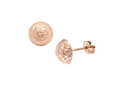 Redditch-Rose-Gold-Dome-Earrings-ESP00092