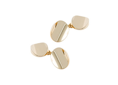 Oval-Gold-Chain-Cufflinks-CCK00016
