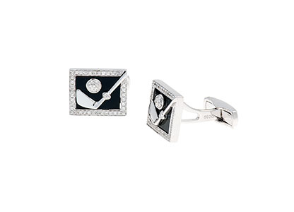 Golf-Cufflinks-Diamond-CKA00001
