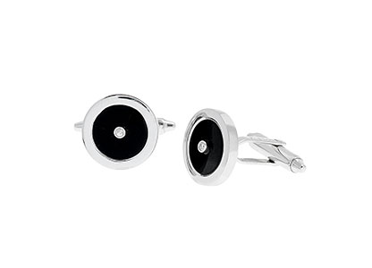 Onyx-Cufflinks-White-Gold-CKA00008