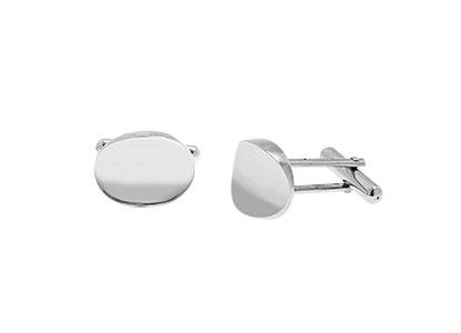 White-Gold-Oval-Cufflinks-CKN00016