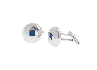 White-Gold-Sapphire-Cufflinks-CKN00017