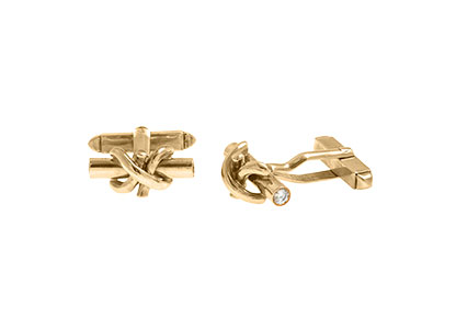 Gold-Knot-Cufflinks-Diamond-CKN00018