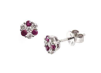 Round-Ruby-&-Diamond-Earrings-ESA00088
