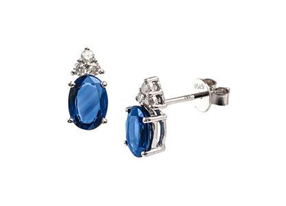 Sapphire-Earrings-18ct-White-Gold-ESA00041
