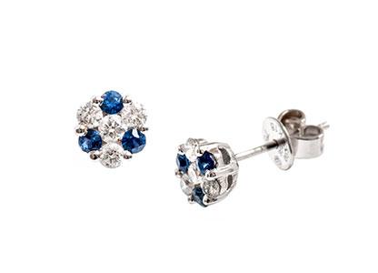 Diamond-&-Sapphire-Stud-Earrings-ESA00089