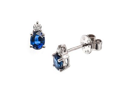 White-Gold-Sapphire-Earrings-18ct-ESA00083