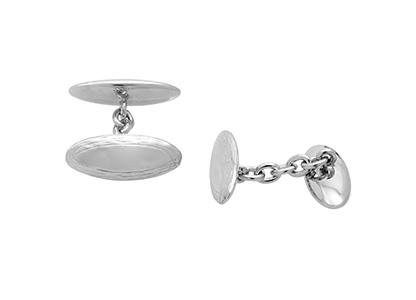 Silver-Chain-Link-Cufflinks-CCK00237
