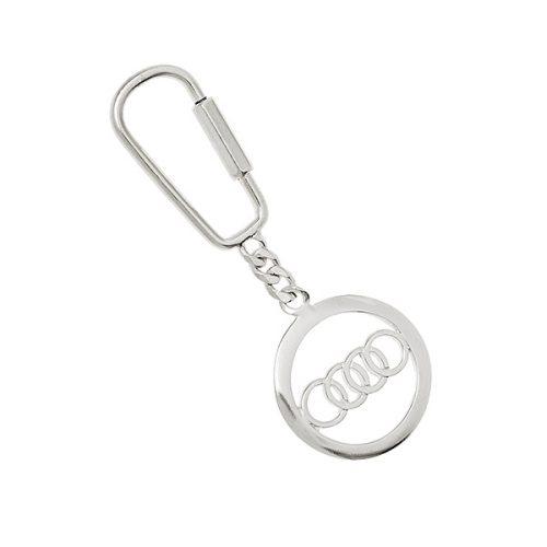 Audi-Keyring-Fob-Silver-KF00007