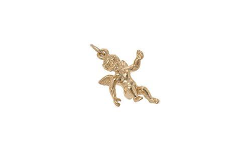 9ct-Gold-Cherub-Pendant-CM00233