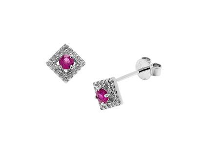 Square-Ruby-&-Diamond-Earrings-ESA00129
