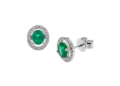 White-Gold-Emerald-Earrings-18ct-ESA00222