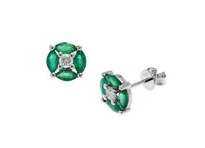Emerald-&-Diamond-Round-Earrings-ESA00276