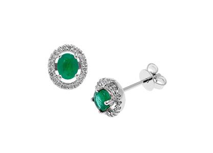 Emerald-&-White-Gold-Earrings-ESA00330