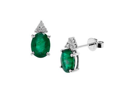 Oval-Emerald-Earrings-8mm x 6mm-ESA00410
