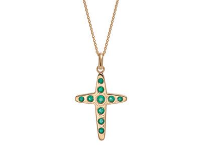 Emerald-Cross-Pendant-PCA00290
