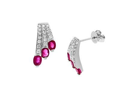 Ruby-&-Diamond-Stud-Earrings-ESA00236