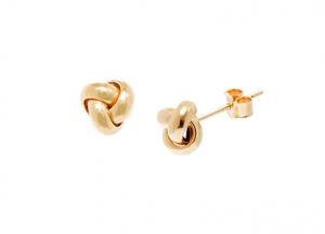 Gold-Knot-Stud-Earrings-ESP00053