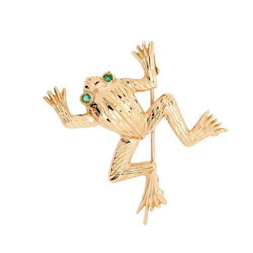 Gold-Frog-Brooch-BRQ00016