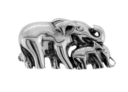 Elephant-&-Calf-Brooch-BRS00017