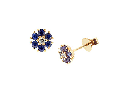 Gold-Sapphire-&-Diamond-Studs-ESA00445