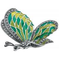 Butterfly-Brooch-Enamel-BRS00027
