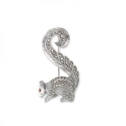 Squirrel-Brooch-Silver-BRS00034