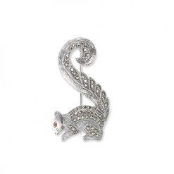 Squirrel-Brooch-Silver-BRS00034