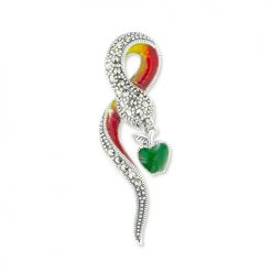 Joe-Blake-Serpent-Snake-Brooch-BRS00023