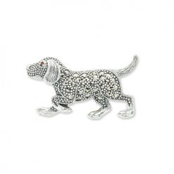 Silver-Dog-Brooch-BRS00059