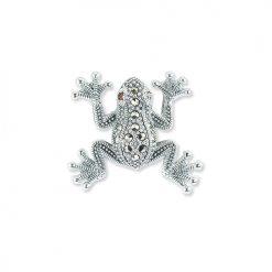 Marcasite-Frog-Brooch-BRS00039