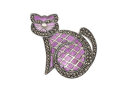 Purple-Cat-Brooch-BRS00031