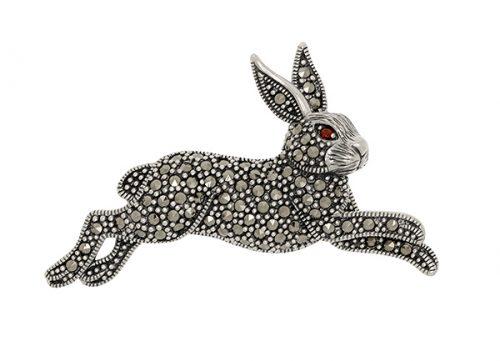 Silver-Rabbit-Brooch-BRS00063