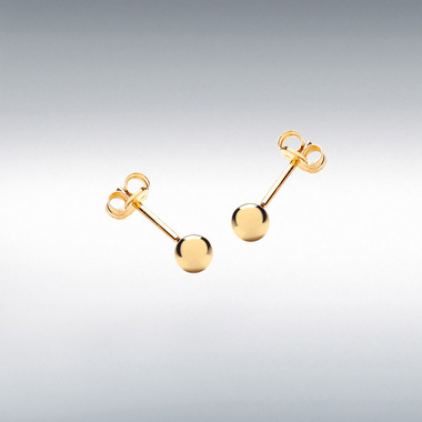 18ct-Gold-Ball-Earrings-Studs-4mm-ESA00452