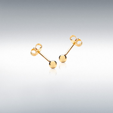 18ct-Gold-Ball-Stud-Earrings-3mm-ESA00451
