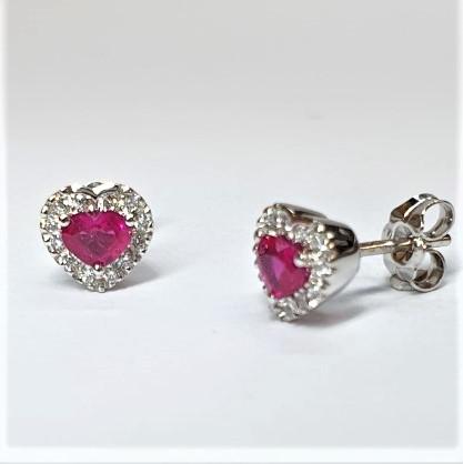 Heart-Ruby-&-Diamond-Earrings-ESA00459