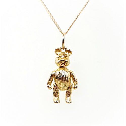 Gold-Teddy-Bear-Pendant-PC00505
