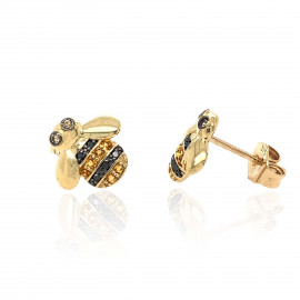 9ct-Gold-Bee-Earring-Studs-ES00769