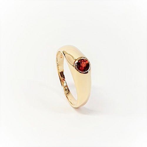 Garnet-gypsy-Ring-R00126