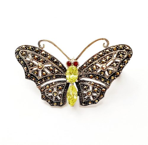 Marcasite-Butterfly-Brooch-BRS00067