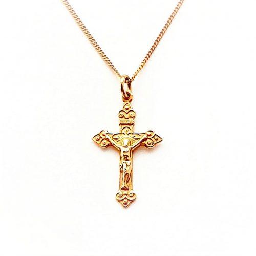 9ct-Rose-Gold-Crucifix-PC00515