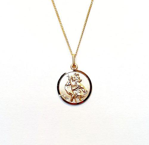 Gold-Saint-Christopher-Pendant-PC00519