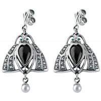 Art-Nouveau-Silver-Drop-Earrings-EDS00043